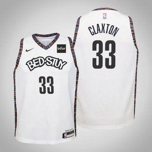 Women Brooklyn Nets Nicolas Claxton City Jersey
